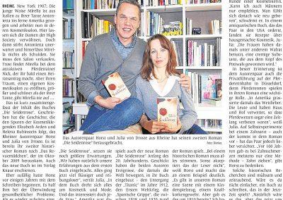 Münsterländische Volkszeitung, 01.12.2010, Autor: Klaus Direkes
