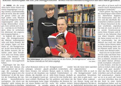 Münsterländische Volkszeitung, 08.03.2014, Autor: Klaus Direkes