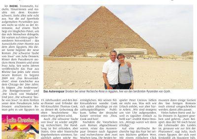 Münsterländische Volkszeitung, 18.04.2015, Autor: Klaus Direkes