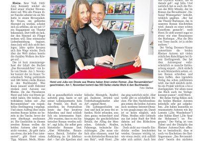 Münsterländische Volkszeitung, 24.10.2009, Autor: Klaus Dierkes