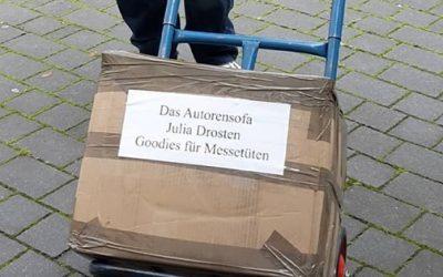 Die Vorbereitungen für die Frankfurter Buchmesse laufen
