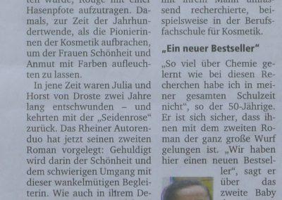 Münsterschen Zeitung 01.12. 2010, Autor: Miriam Lehmate