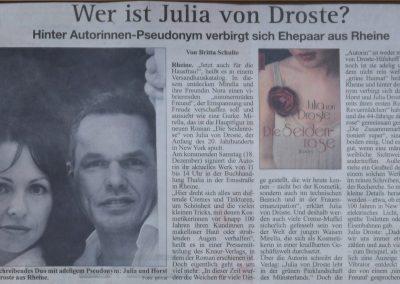 Rheiner Report 02.12. 2010, Autor: Britta Schulte
