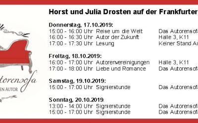 Trefft uns auf der Frankfurter Buchmesse
