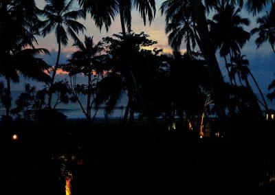 Abend am Indischen Ozean