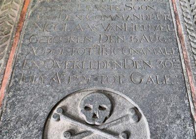 Grabstein der Groote Kerk
